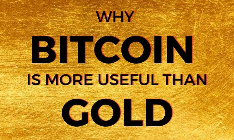 Bitcoin is more useful than gold