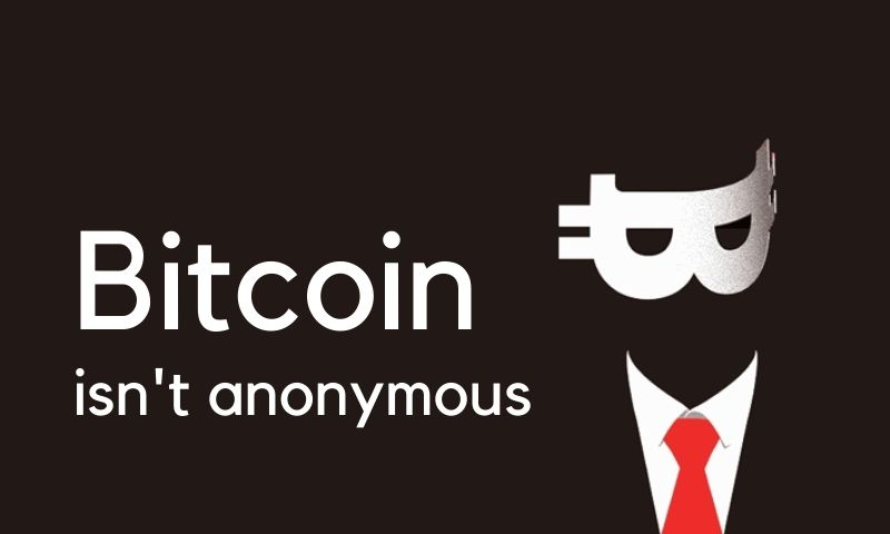 Things you should know: Bitcoin isn't anonymous
