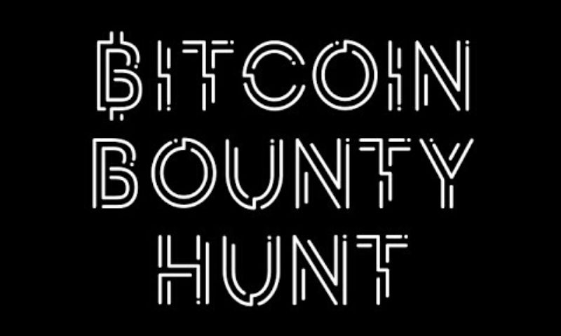 Win satoshis with Bitcoin Bounty Hunt