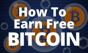 how to earn free bitcoin