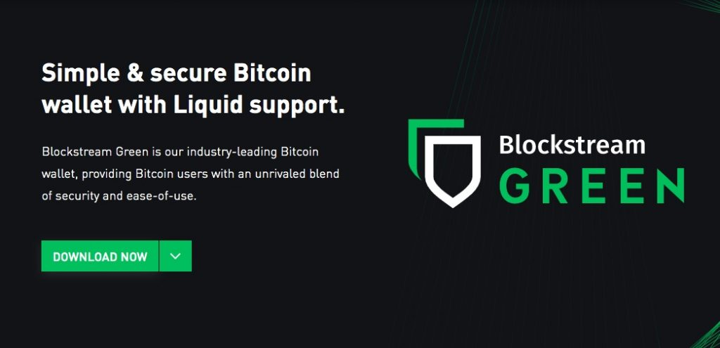 Blockstream Green wallet allows you to send Bitcoin in the safest manner