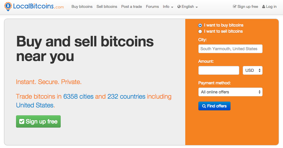 localbitcoins buy and sell bitcoin