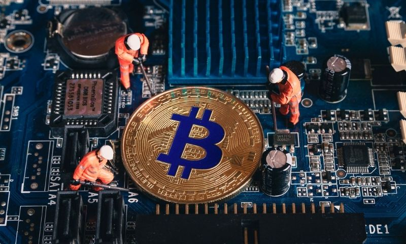 Bitcoin miners help secure the network