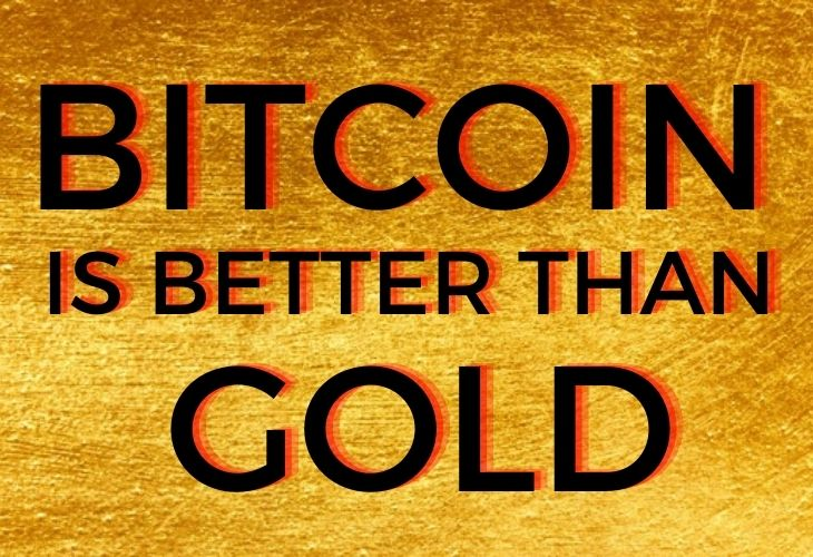 Bitcoin is better in every way than gold