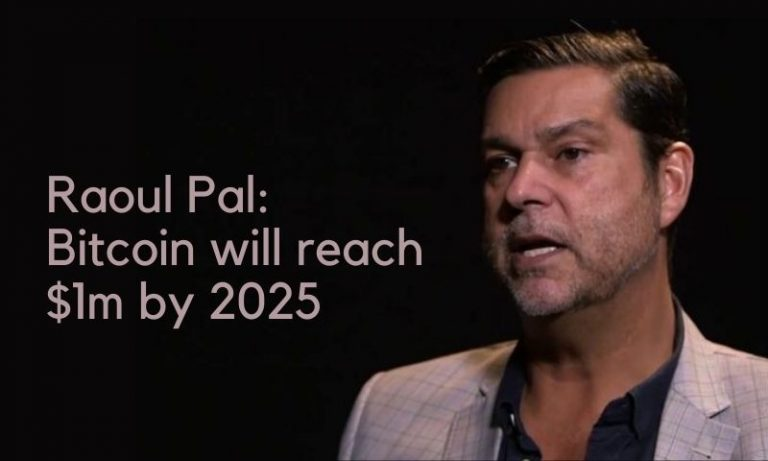 Raoul Pal: Bitcoin to USD $1 million by 2025