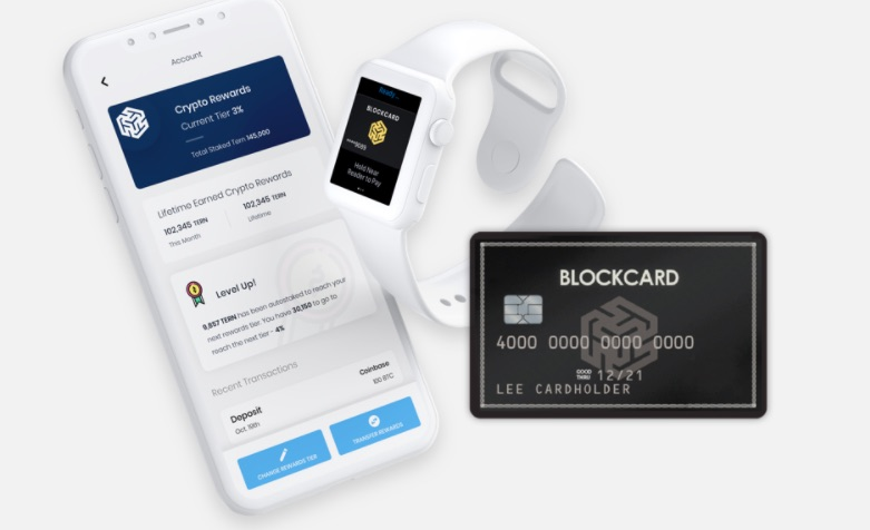 BlockCard by Ternio ad Paxful