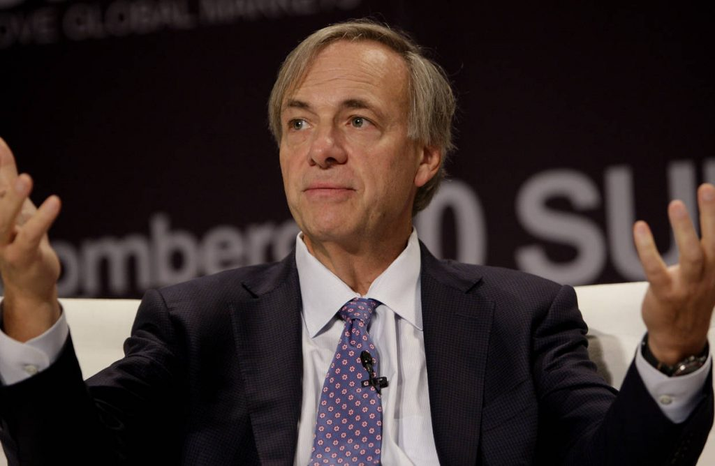 Could Ray Dalio join Stanley Druckenmiller  and go long Bitcoin