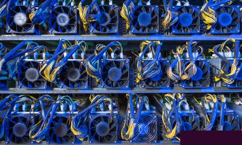 Mining rigs use a lot of electricity