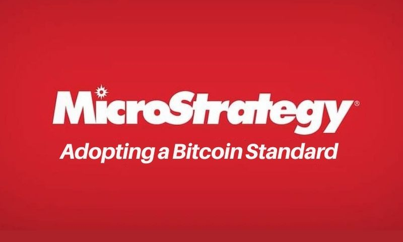 MicroStrategy has adopted a bitcoin standard and is a way to avoid paying capital gains if you invest in a 401k, IRA or ISA