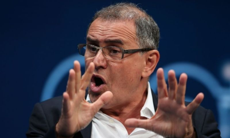 Nouriel Roubini was quick to pounce on the bitcoin price crash