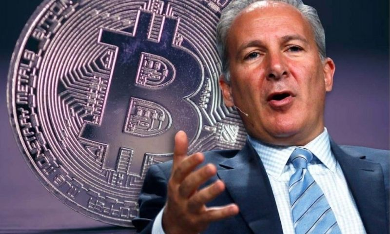 Peter schiff was quick to pounce on the bitcoin price crash