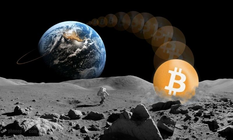 Bitcoin is going to the moon