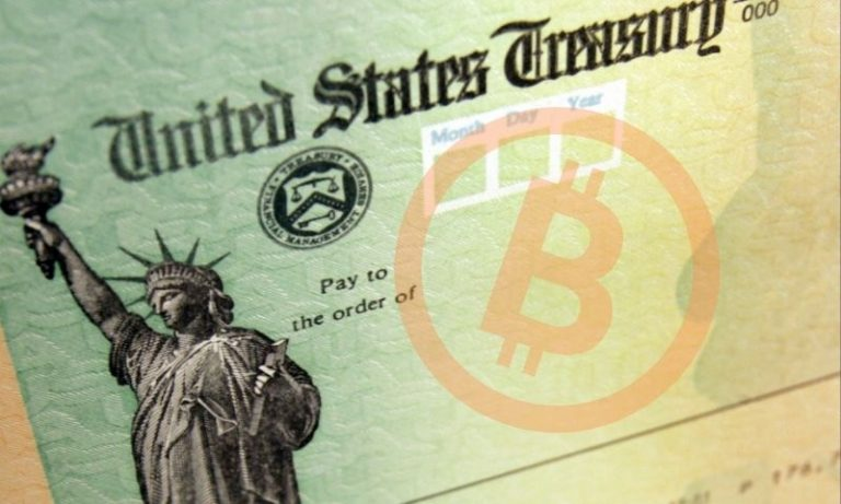 Stimulus Check now worth almost $9k in Bitcoin